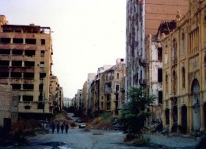 Green Line, Beirut 1982
